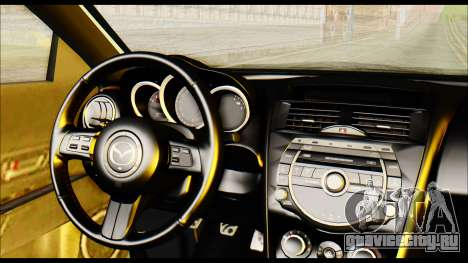 Mazdaspeed 3 Daglow v2 для GTA San Andreas вид справа
