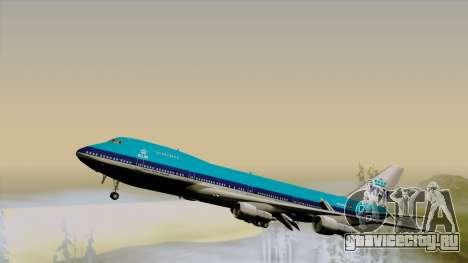 Boeing 747-200B KLM для GTA San Andreas