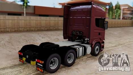 Scania R для GTA San Andreas вид слева