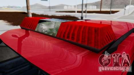 FDSA Fire SUV для GTA San Andreas вид сзади слева