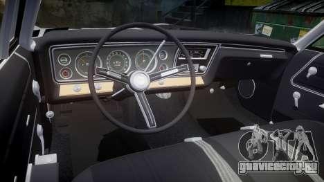 Chevrolet Impala 1967 Custom livery 3 для GTA 4 вид сбоку
