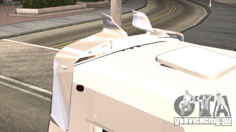 Ford Prisma IV Microbus для GTA San Andreas вид изнутри