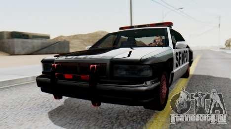 Police SF with Lightbars для GTA San Andreas
