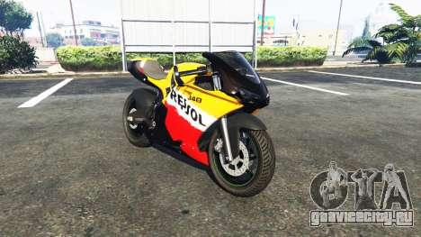 Pegassi Bati 801RR Repsol для GTA 5