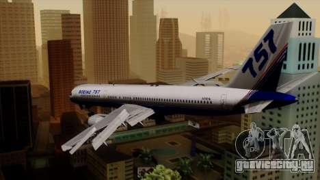 Boeing 757-200 (N757A) для GTA San Andreas вид слева