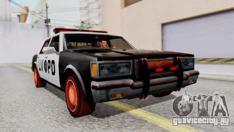 Police LV with Lightbars для GTA San Andreas