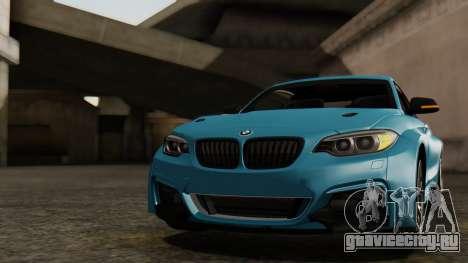BMW M235i F22 Sport 2014 для GTA San Andreas салон