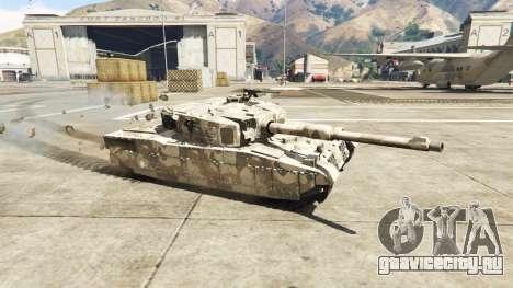 Миниатюрный танк Rhino для GTA 5 вид слева