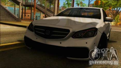 Mercedes-Benz E63 Brabus BUFG Edition для GTA San Andreas
