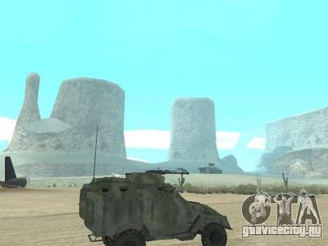 БТР 40 для GTA San Andreas вид сзади