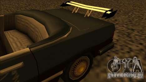 FreeShow Feltzer для GTA San Andreas вид сзади