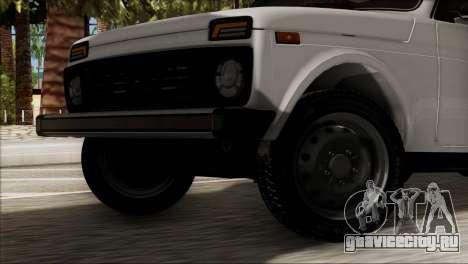 ВАЗ 2121 Нива BUFG Edition для GTA San Andreas вид сзади слева