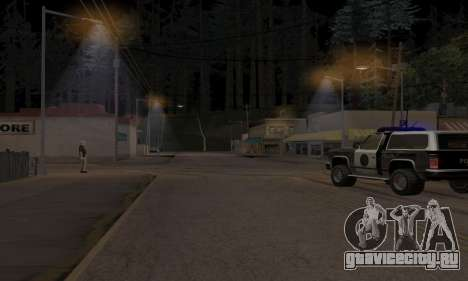 Lamppost Lights v3.0 для GTA San Andreas второй скриншот