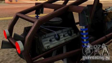 Двухместный Bandito для GTA San Andreas вид справа