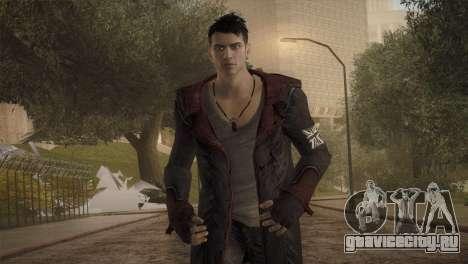 Dante from DMC для GTA San Andreas третий скриншот