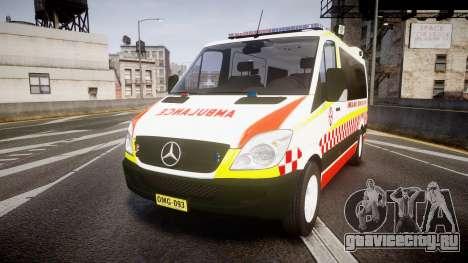 Mercedes-Benz Sprinter NSW Ambulance [ELS] для GTA 4