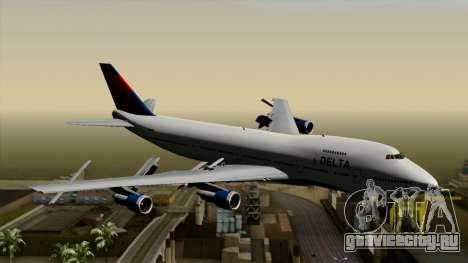 Boeing 747 Delta для GTA San Andreas