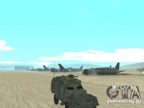 БТР 40 для GTA San Andreas вид справа