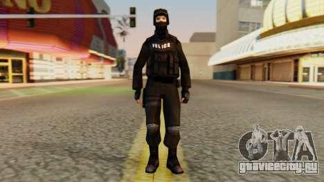 Видоизмененный SWAT для GTA San Andreas второй скриншот