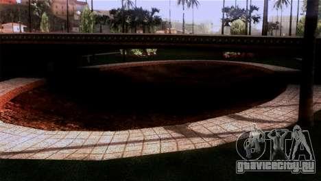 Новые текстуры Скейт парка для GTA San Andreas третий скриншот