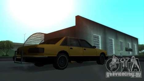 New Taxi для GTA San Andreas вид сбоку