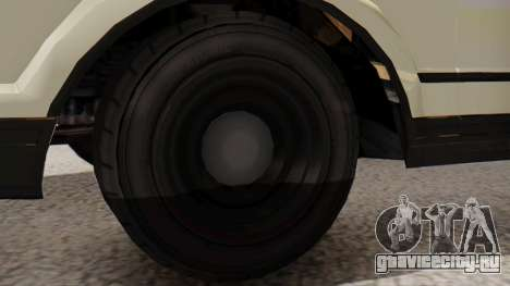 GTA 5 Albany Esperanto Police Roadcruiser IVF для GTA San Andreas вид сзади слева