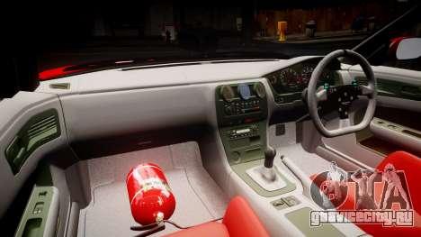 Nissan Silvia S14 TOKICO для GTA 4 вид сзади