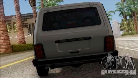 ВАЗ 2121 Нива BUFG Edition для GTA San Andreas вид справа
