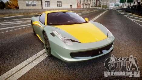 Ferrari 458 Italia Novitec Rosso 2012 для GTA 4