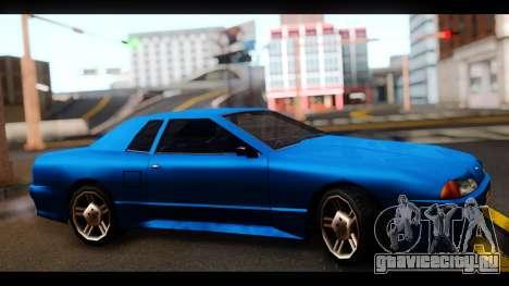 New Elegy by HEPBEH для GTA San Andreas вид сзади слева