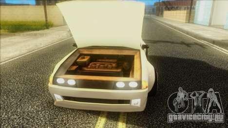 Elegy Rocket Bunny Edition для GTA San Andreas вид сзади