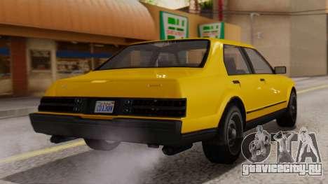 GTA 5 Albany Esperanto IVF для GTA San Andreas вид слева