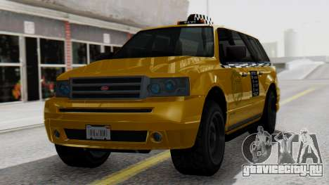 Vapid Landstalker Taxi SR 4 Style для GTA San Andreas