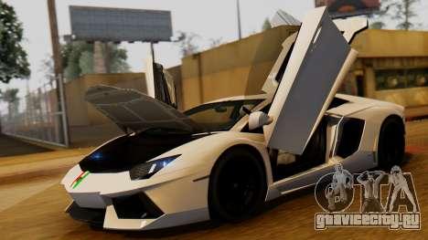 Lamborghini Aventador LP 700-4 2012 для GTA San Andreas вид справа
