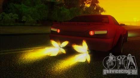 Elegy Rocket Bunny Edition для GTA San Andreas вид сверху