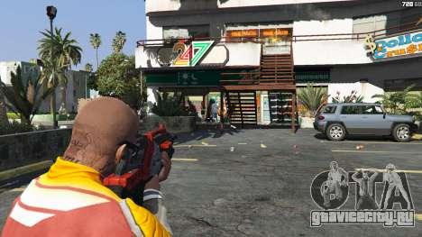 M-76 Revenant из Mass Effect 2 для GTA 5 пятый скриншот