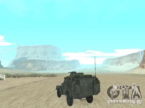 БТР 40 для GTA San Andreas вид слева