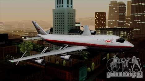 Boeing 747 TWA для GTA San Andreas