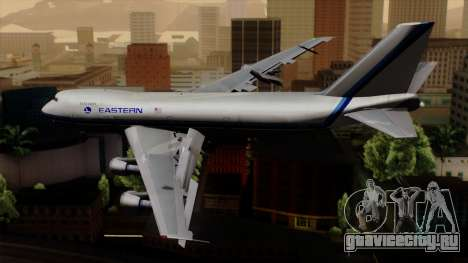 Boeing 747 Eastern для GTA San Andreas вид слева