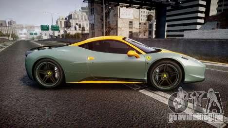 Ferrari 458 Italia Novitec Rosso 2012 для GTA 4 вид слева