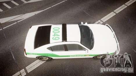 Bravado Buffalo Police [ELS] для GTA 4 вид справа