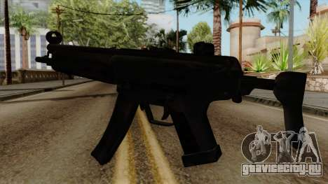 Original HD MP5 для GTA San Andreas второй скриншот