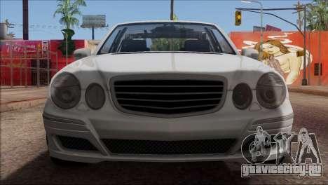 Mercedes-Benz E55 W211 AMG для GTA San Andreas вид сверху