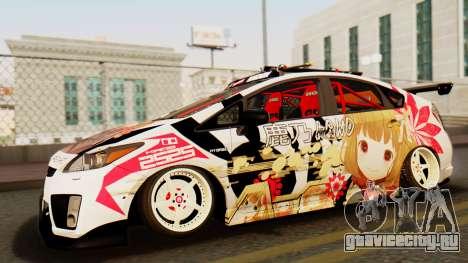 Toyota Prius JDM 2011 Itasha для GTA San Andreas