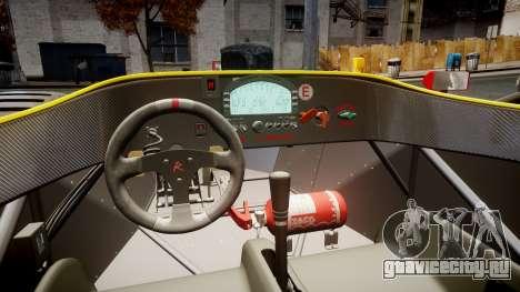 Radical SR8 RX 2011 [2] для GTA 4 вид сзади