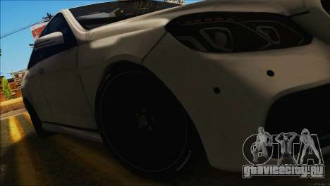 Mercedes-Benz E63 Brabus BUFG Edition для GTA San Andreas вид справа
