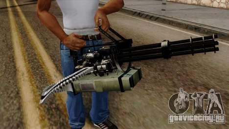 Original HD Minigun для GTA San Andreas третий скриншот