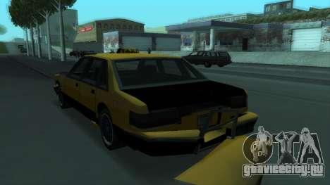 New Taxi для GTA San Andreas колёса