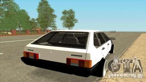 ВАЗ 21093i для GTA San Andreas вид сзади слева