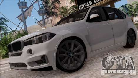 BMW X5 F15 BUFG Edition для GTA San Andreas вид слева